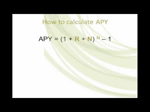 How To Calculate Annual Percentage Yield (APY).mp4