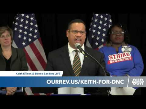 Keith Ellison Calls for 50-State 3,007-County Strategy as DNC Chair Candidate