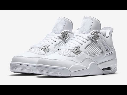 detailed pictures pretty cheap outlet for sale Air Jordan 4 Pure Money (2017) • KicksOnFire.com