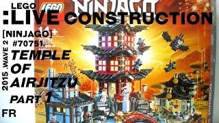 LEGO Live Construction : Ninjago's Temple of Airjitzu (1/12) [Français]
