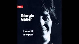 Giorgio Gaber - I borghesi (1 - CD2)