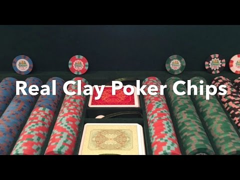 Cheap Real Clay Poker Chips   Take Your Home Game To The Next Level