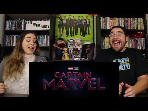 Captain Marvel - Official Trailer Reaction / Review