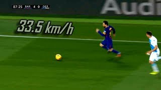 Lionel Messi ● CRAZY Speed & Acceleration Show ► 2017-2018