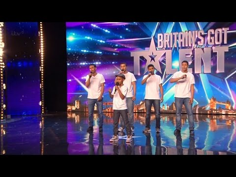 Britain's Got Talent 2015 S09E06 The Sakyi Five Brother Boy Band Perform One Direction's Little Thin