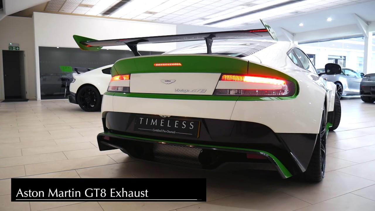 Aston Martin Gt8 Vs Gt12 Exhaust Comparison Youtube
