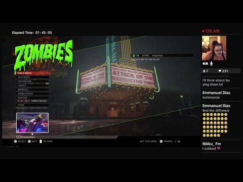 Yooooooo Zombies & Shots Challenge With TheGreatOne24-7 & Lady