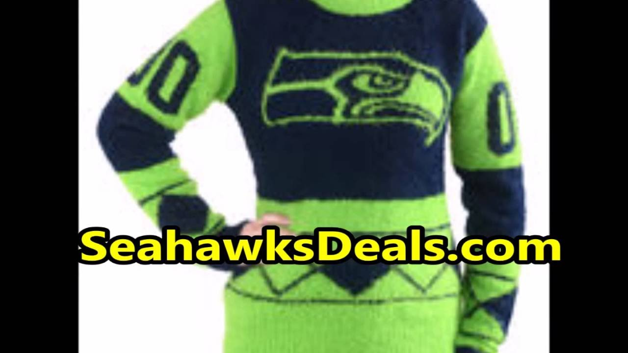 premium selection 62d3f ed7f9 Seahawks Ugly Sweater