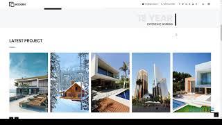 Modern - Architecture and Interior Template        Gresham Hyrum