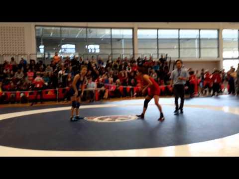 2015 Junior National Championships: 55 kg Indhyra Linares-Helfrich vs. Tina McLaren
