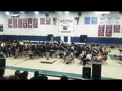 The Avengers Theme Song * Preformed By The Montwood Middle School Honor Band