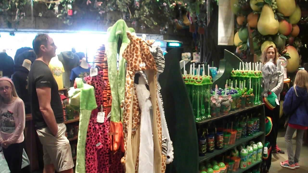 Rainforest Cafe Downtown Disney Gift Shop