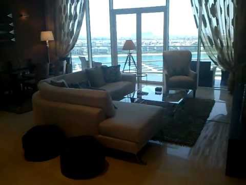 Luxurious interior design oceana furnished 2 bedroom for Interior design for 2 bed flat