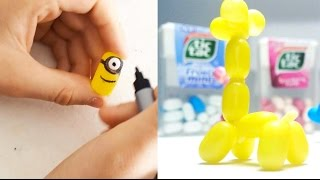 Easy DIY Candy Creatures to make in 5-minutes