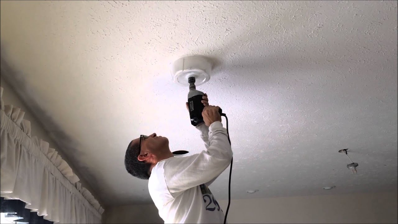 Recessed Lighting Keeps Falling Out : Cutting holes for recessed lights using milwaukee hole