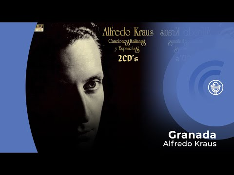 Alfredo Kraus - Granada (con letra - lyrics video)