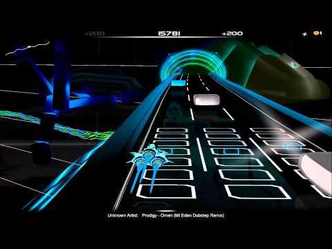 Audiosurf: Prodigy - Omen (Mt Eden Dubstep Remix)