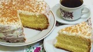 Домашние видео-рецепты - бисквитный торт в мультиварке(ИНГРЕДИЕНТЫ: •5-6 яиц •1 стакан сахара •2 ст.л. меда •1 стакан муки. Крем: •300-400 г сметаны •2/3 стакана сахарно..., 2016-11-14T12:23:28.000Z)