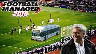 Jose Mourinho Tactic in Football Manager 2018 (Parking the Bus)