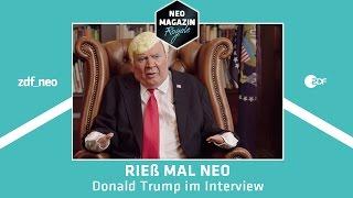 Rieß mal Neo – Donald Trump im Interview