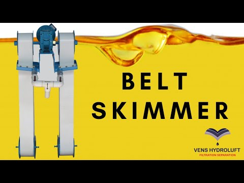 Double the oil removal rate!!! by using our Double Belt Skimmer.
