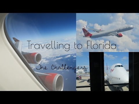Travelling to Orlando Florida Vlog with Virgin Atlantic London Gatwick
