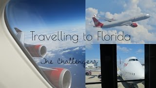 Travelling to Florida with Virgin Atlantic Gatwick to Orlando upper deck