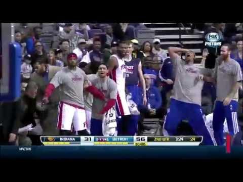 Detroit Pistons Top 10 Plays of 2013-2014 Season