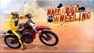 Happy Bike Wheels - Gameplay Android game - bike stunt game