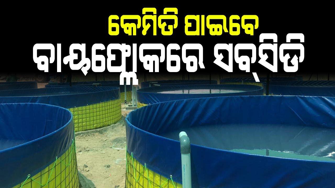 କେମିତି ପାଇବେ ବାୟଫ୍ଲୋକରେ ସବସିଡି ( How to get biofloc subsidy in odisha ).