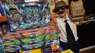 Opening PRIMARINA GX Premium Collection Box and 9 Guardians Rising Booster Packs! SECRET RARE PULL!