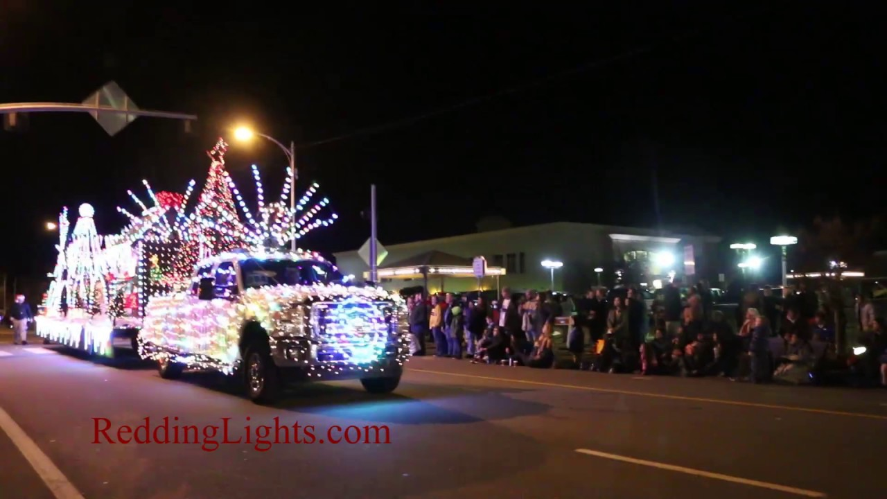 2016 Redding Lighted Christmas Parade - YouTube