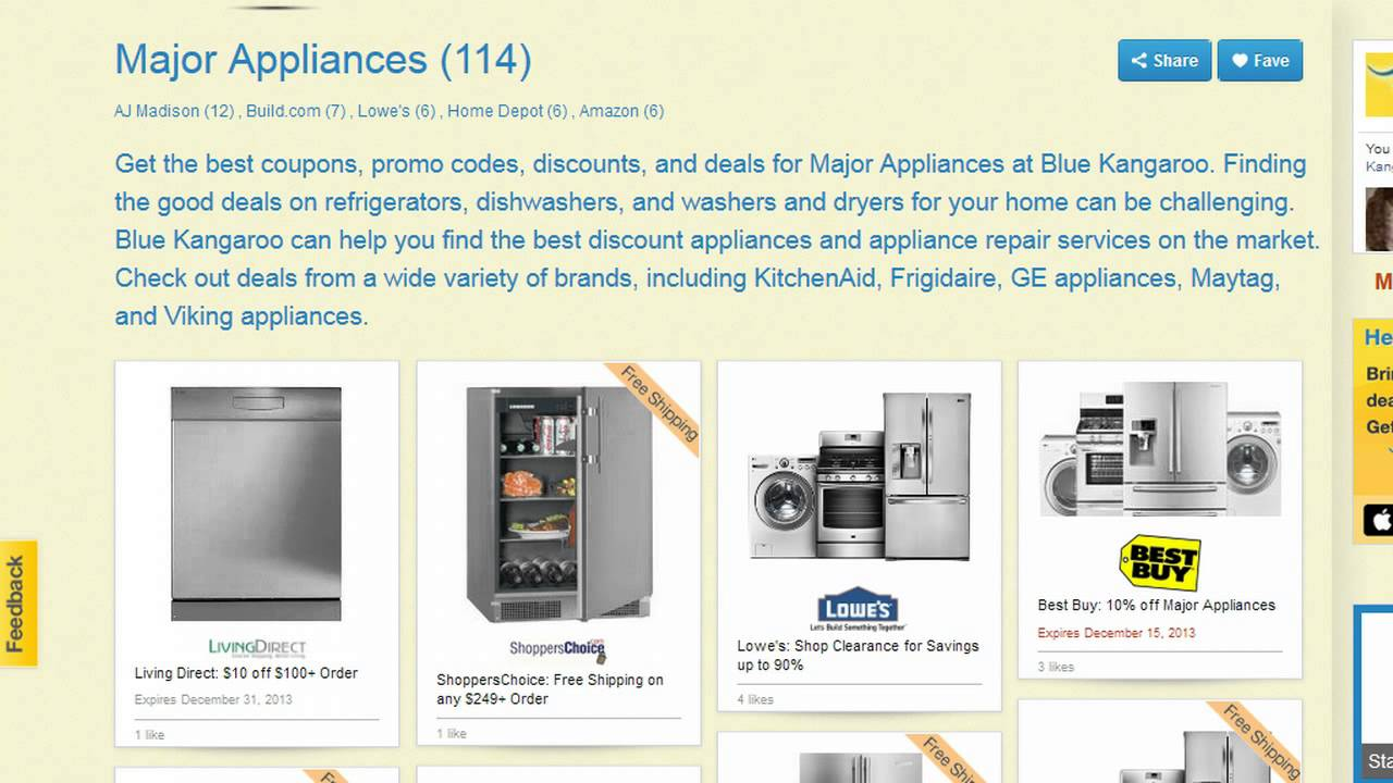 How To Get The Best Deals on Appliances - YouTube