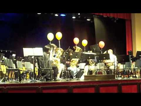 """""""Married Life"""" From """"Up""""-Anderson University Tuba Ensemble"""