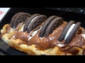 THE BEST PANCAKES IN LONDON, NUTELLA OREO WAFFLE, WAFFLES, CREPES, LONDON STREET FOOD