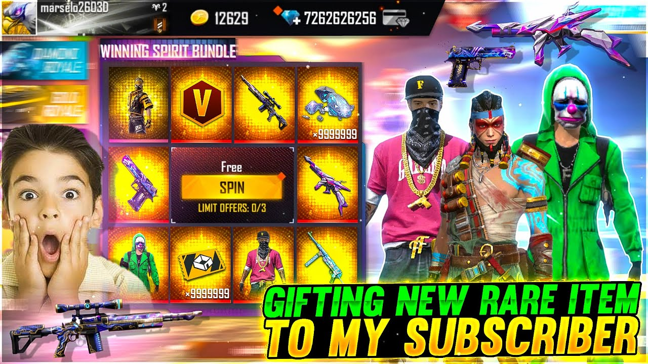 Buying 55,000 +Diamond & Dj Alok 😍To My Subscriber On His Birthday  Crying Moment- Garena Free Fire