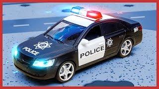 #Машинки для мальчиков Полицейская Машина и Погоня за нарушителем. Мультики про трансформеров