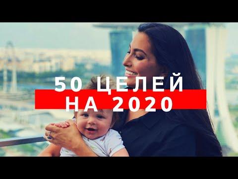 50 ЦЕЛЕЙ НА 2020 ГОД | Доска желаний | МАРИЯ ДЖОНС