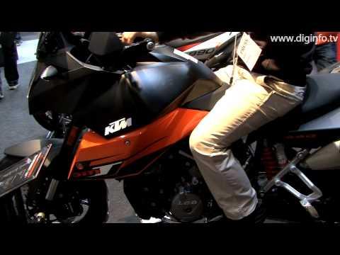 "Tokyo Motorcycle Show 2009 - KTM ""990 SUPERMOTO T"" : DigInfo [HD]"