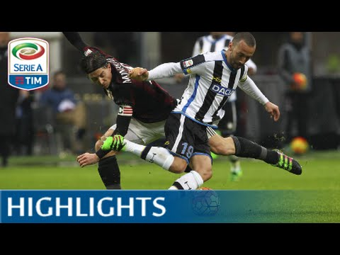 Milan - Udinese 1-1 - Highlights - Matchday 24 - Serie A TIM 2015/16