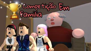 Roblox: CORRIDA EM FAMILIA, QUEM SERA O CAMPEÃO ? 😃 (Escape the Grandpa)