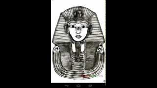 Drawing King Tut