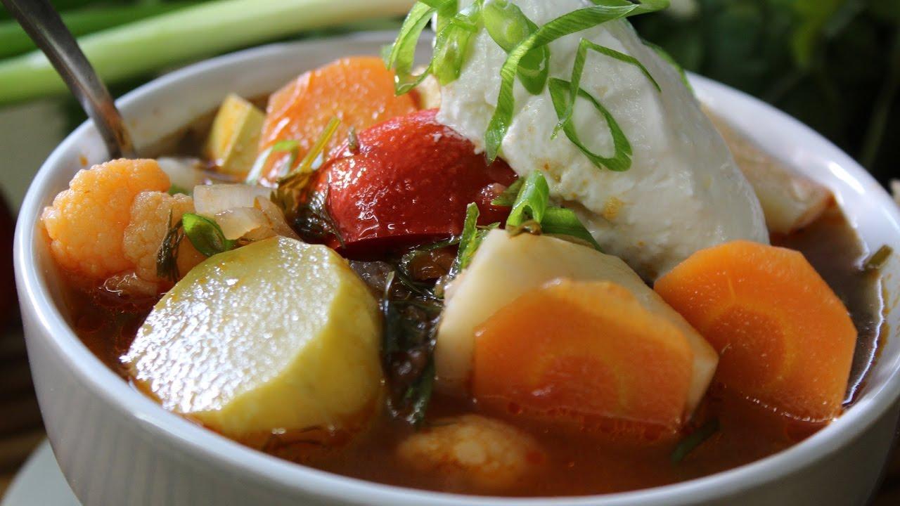 Рецепт- Овощной суп