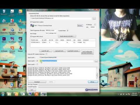 Unbrick LG D380/D325 Qcomm 9008 To Download mode using QPST