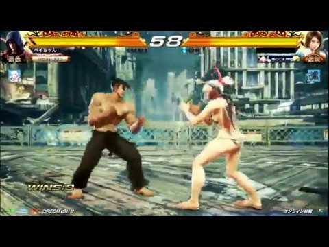 Tekken 7 FR - Jin(Pay-Chan) vs Asuka,...