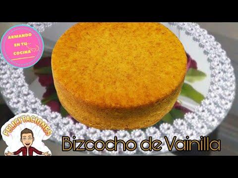 Receta de Pan para pastel vainilla o bizcocho