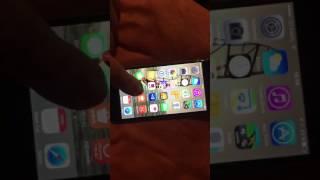 iPhone 6 zamrzlý dotyk