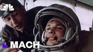 Yuri Gagarin Became The First Human In Space, 57 Years Ago Today | Mach | NBC News