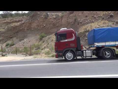 Scana Rojo Transportes Luengo e Hijos