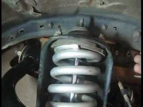 Tacoma Coil Over Shock Disassembly without a Spring Compressor